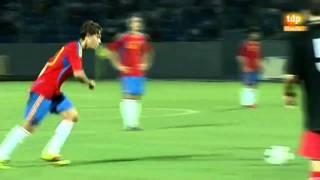 Golazo de falta (Sergio Canales). Georgia 2 - España 7
