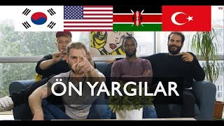 4 FARKLI MİLLET HAKKINDA ÖN YARGILAR (Ör. Kenyalılar aslan etini yer mi?) | 3 Yabancı 1 Türk #13 thumbnail