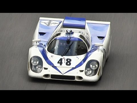 Best of Flat-12 Engine Sounds - Porsche 917K, Ferrari 312 PB, 312B, 512 BB LM & Alfa 33
