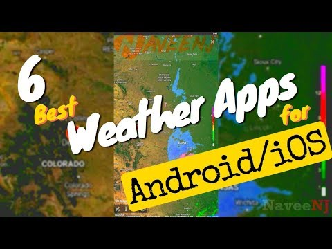 6 Best Weather Apps For Android/iOS