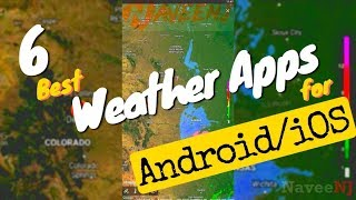 6 Best Weather Apps for Android/iOS screenshot 1