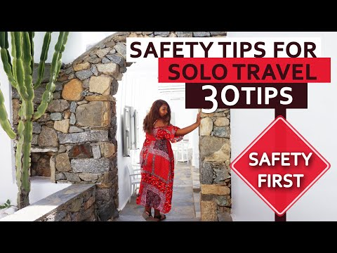30 Tips to Stay Safe while Travelling Solo | Solo Travel | Travel Tips