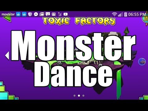 geometry dash world monster dance off how to control
