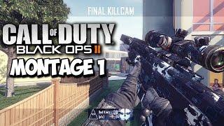 Red Kiwiz: Black Ops 2 Trickshot Montage #1 (BEFORE PRESTIGE)