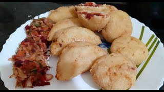 Odia Vegetable କାକରା | Vegetable stuffed 'Pitha' | Without onion and garlic