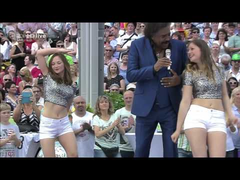 George McCrae - Rock Your Baby (ZDF-Fernsehgarten - june 05, 2016)