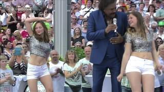 Mix - George McCrae - Rock Your Baby (ZDF-Fernsehgarten - june 05, 2016)