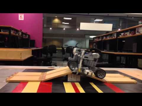 Lego MindStorms eV3 Cruise Control Algorithm (Fixed 3D position)