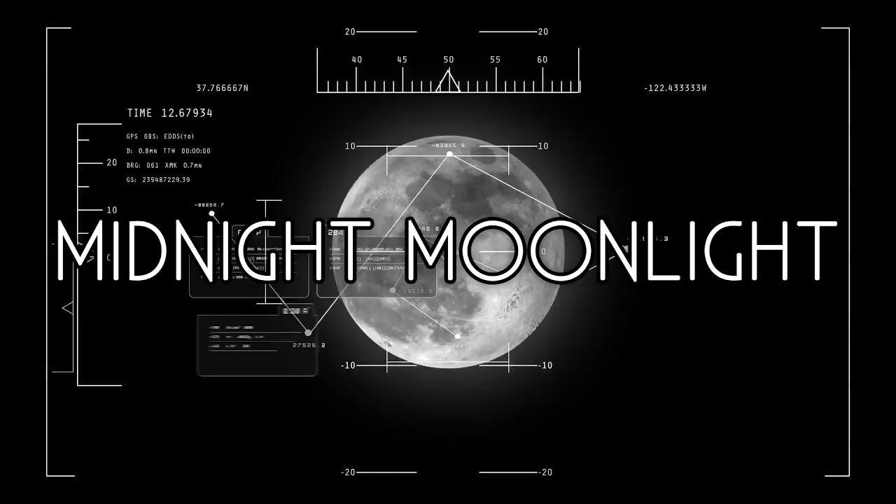 Spooky Midnight Moonlight Royalty Free Stock Photos - Image: 8659418
