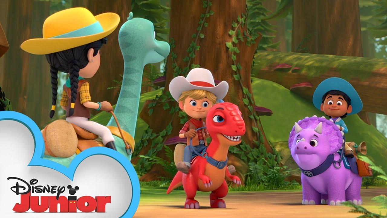 Favorite Moments Part 4 | Compilation | Dino Ranch | @Disney Junior