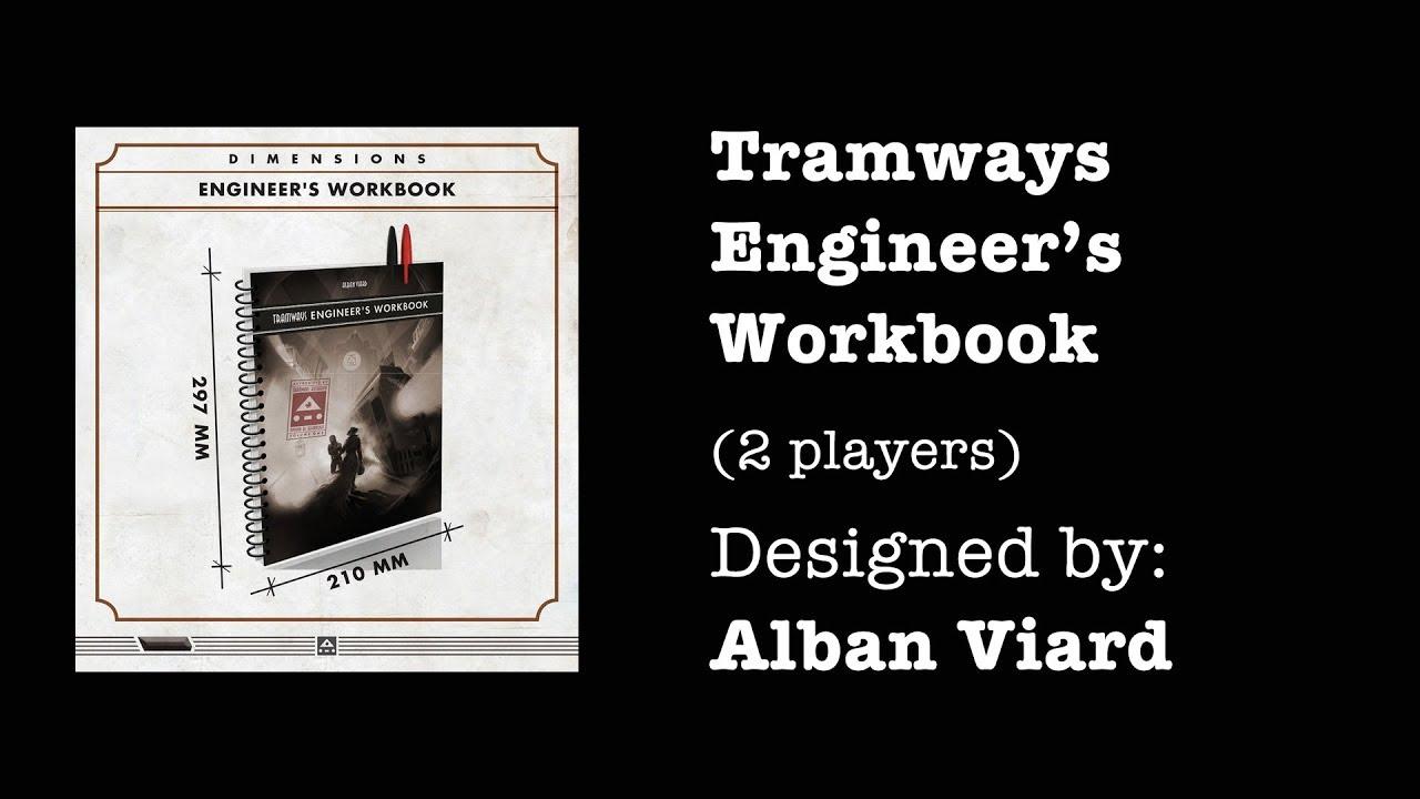 Tramways Engineer's Workbook by AV Studio Games - LudiBooster