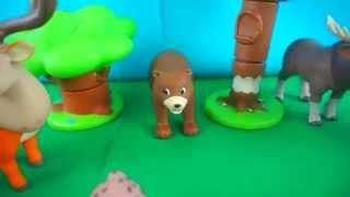 Учим Животных Леса. Развивающие видео для детей.