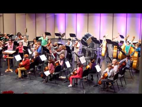 Suzuki Twinkle Variations, 5th Grade Orchestra Concert Grand Rapids Christian Middle School