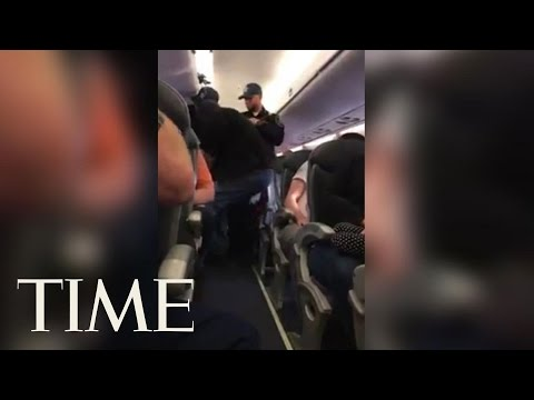 Video Shows Man Forcibly Removed From Overbooked United Flight | TIME