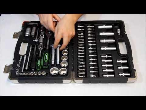 Набор инструментов MIOL EXPERT 58-094 (94 предмета) - YouTube