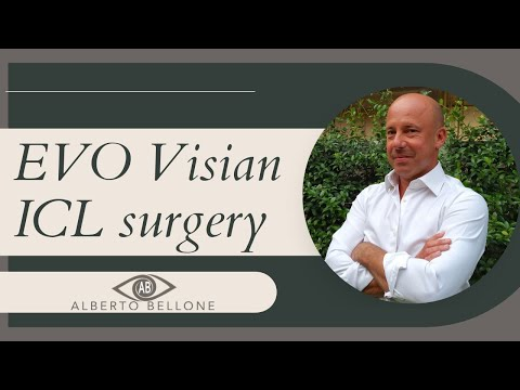 EVO Visian ICL surgery in keratoconus patient implanted with Keraring Dr Bellone MOD Italy