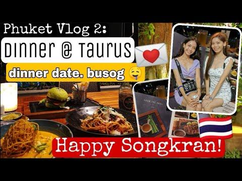 PHUKET VLOG2: Anantara Mai Khao Phuket Villas + Dinner Date, Sobrang Busog! Happy Songkran, Thailand