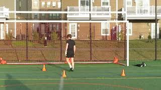 Goal Keeper Training.
