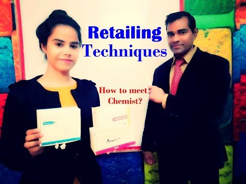 Retail Survey in Pharma Market - How to meet chemist - Retailing techniques - MR Interview