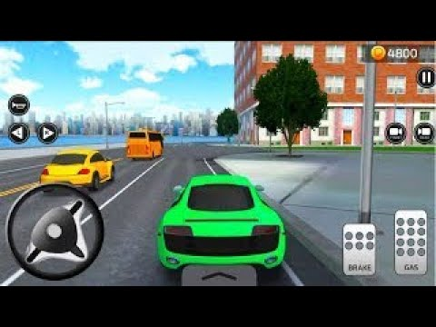 Parking Frenzy 3D Simulator by Games2win Gameplay Drive Sports Cars