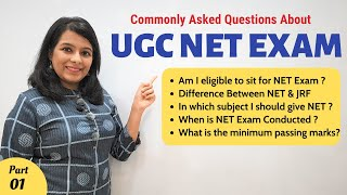 Everything you need to know about NET Exam: Eligibility | Difference Between NET & JRF