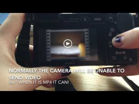 HOW TO TRANSFER VIDEOS FROM YOUR SONY A6000