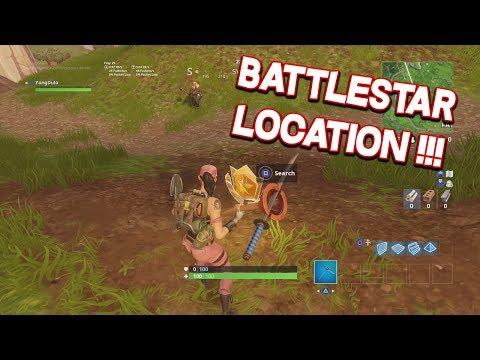 Fortnite Season 5 Week 3 BattleStar Location