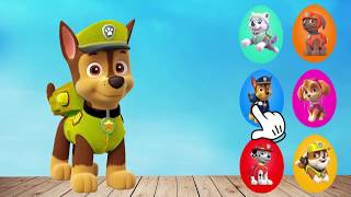 Learn Colors Wrong Masks Costume Paw Patrol Surprise Toys Marshall Chase Zuma Skye Rocky Rubble