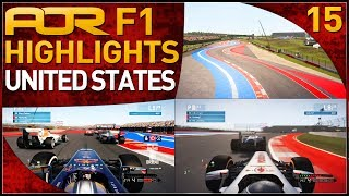 F1 2013 | AOR F1: S7 Round 15 - United States Grand Prix (Official Highlights)