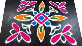 148 easy kolam techiques   varalakshmi vratham unique rangoli design by sunitha 7x7 dots