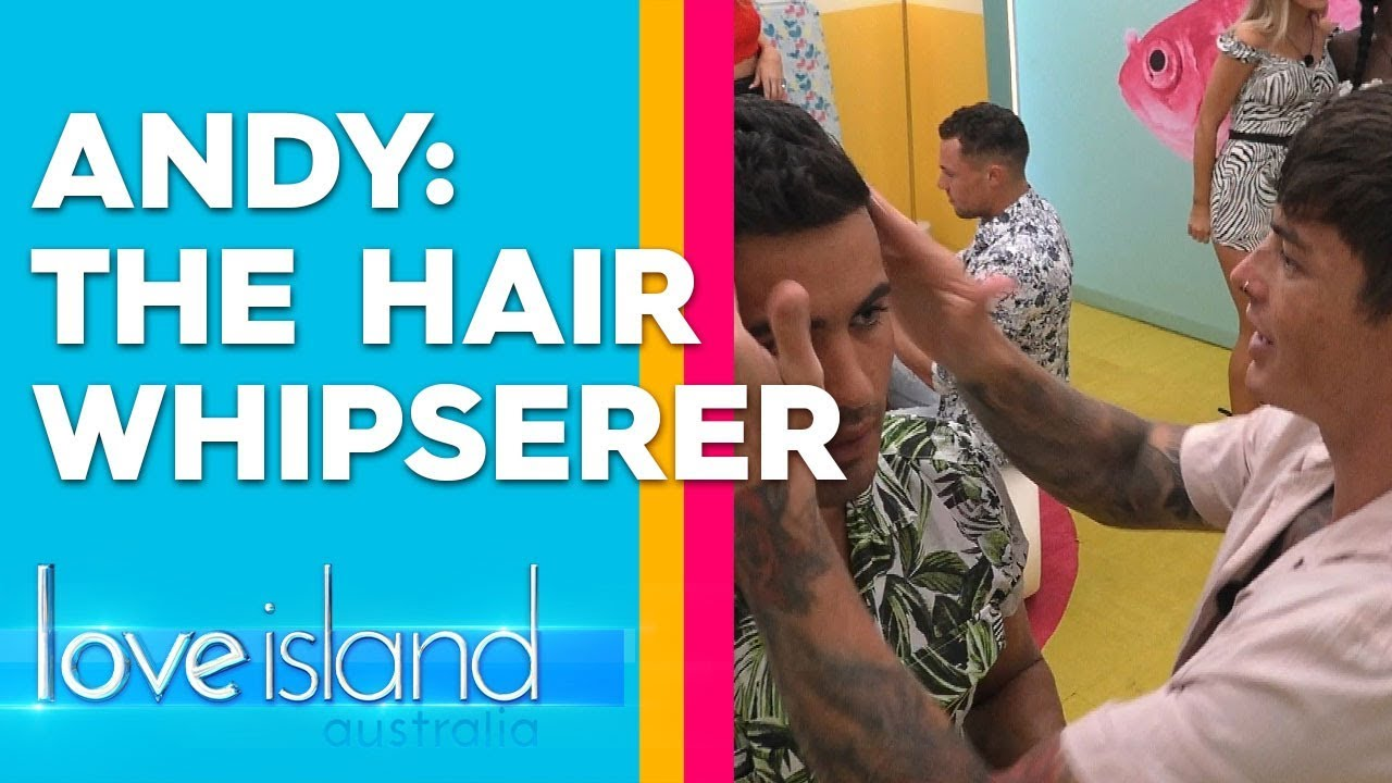 Adam mentors Maurice on hair styling | Love Island Australia 2019