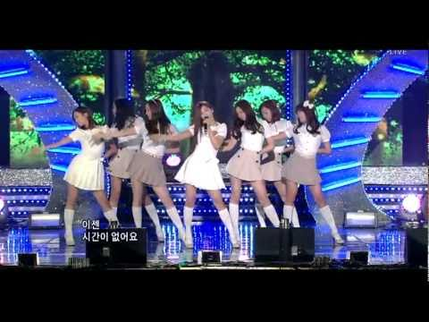 110424 A Pink - I Don't Know   Debut Stage LIVE @ Inkigayo