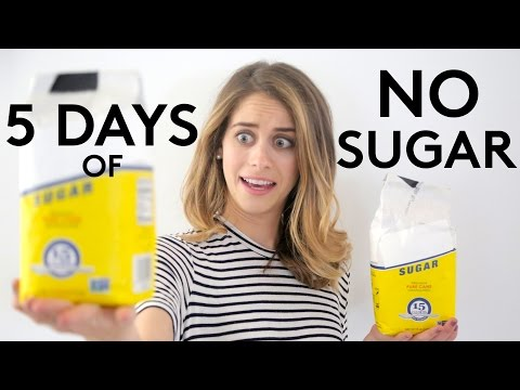 5 Days of No Sugar | Try Living With Lucie | Refinery29