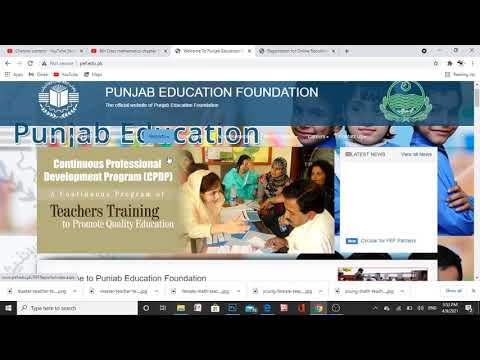How to apply for Pef Invigilator jobs 2021 | Punjab Education Foundation Jobs | Apply Online