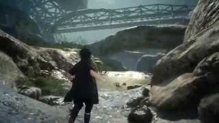 Final Fantasy 15 Gameplay - FF15 New Gameplay from Gamescom 2015