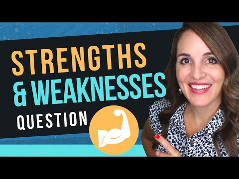 What is your strength and weakness? (how to answer this interview question) mp3