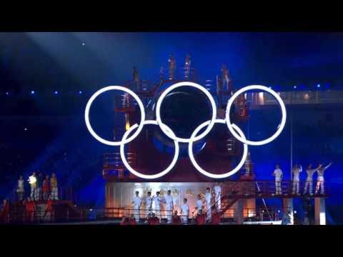 Открытие Летних юношеских Олимпийских игр в Нанкине (Китай) 2014