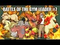 Battle of the Gym Leader #7 (Blaine) - Pokemon Battle Revolution (1080p 60fps)