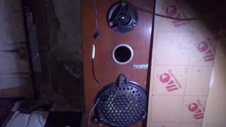 Ngetest Music Box Pakai TDA 2822 5 Volt ke Speaker Tango 6""