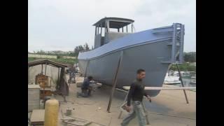 abou el fouz tug boat graco painting