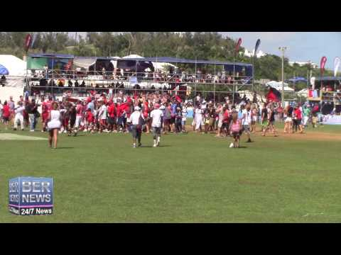 Somerset Wins Cup Match In St George's, July 31 2015