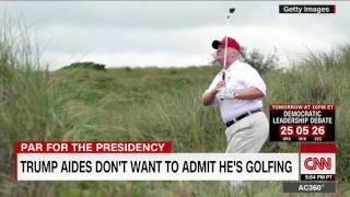 Wonder if Trump will be golfing more than Obama
