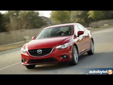 2014 Mazda6 Grand Touring Road Test Video Review