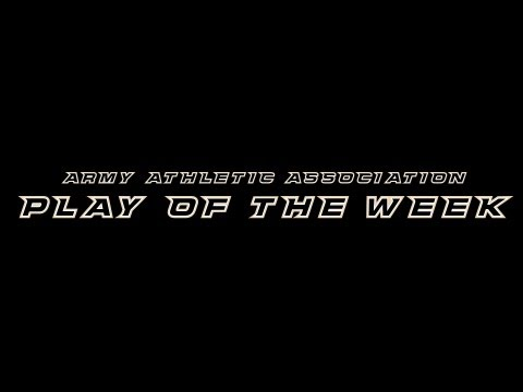 Army Athletic Association Play of the Week 11-19-12