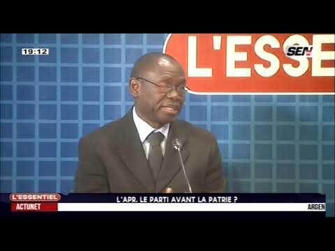 L'APR se déchire, miné par des divergences entre Cisse Lo et Yakham Mbaye