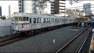山陽電鉄3000系3000号アルミカー姫路駅を最後の発車!