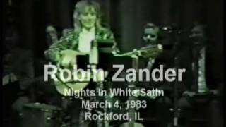 Robin Zander (Cheap Trick) - Nights In White Satin
