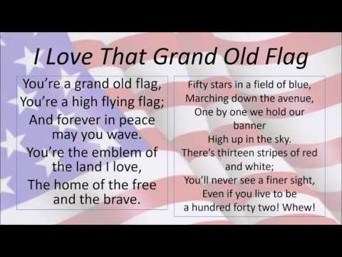 I Love That Grand Old Flag
