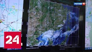 """Мощный тайфун """"Хагупит"""" бушует над юго-восточным побережьем Приморья - Россия 24"""