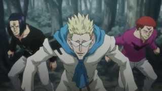 Repeat youtube video Gon, Killua & Bisky vs Boomers Team AMV - Hunter x hunter 2011 [Full Fight]